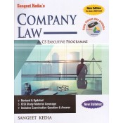Sangeet Kedia's Company Law for CS Executive June 2020 Exam [New Syllabus] by Pooja Law Publishing Co.