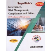 Sangeet Kedia's Governance, Risk Management, Compilances and Ethics for CS Professional June 2020 Exam [New Syllabus] by Anuj Sharma | Pooja Law Publishing