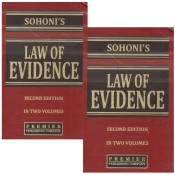 Premier Publishing Company's Law of Evidence by Adv. Vishwas Shridhar Sohoni [2 HB Vols.]