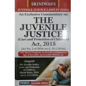 Premier Publishing Company's An Exclusive Commentary on The Juvenile Justice (Care and Protection of Children) Act, 2015 by S. K. P. Sriniwas | JJ Act