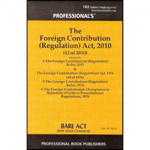 Professional's Foreign Contribution (Regulation) Act, 2010