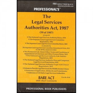 Professional's Bare Act on Legal Services Authorities Act,1987