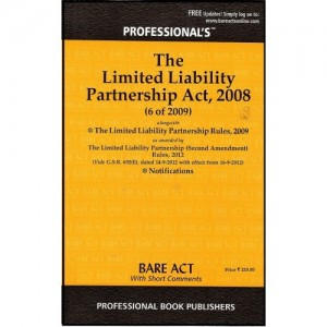 Professional's Limited Liability Partnership [LLP] Act, 2008 Bare Act