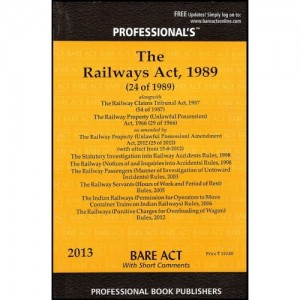 Professional's Railways Act,1989 Bare Act