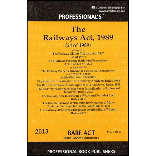 Professional's Railways Act,1989