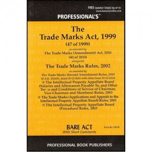 Professional's Trade Marks Act,1999 (Bare-Act)