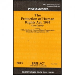 Professional's The Protection Of Human Rights Act, 1993 [Bare Act]