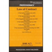 Professional's Law of Contract [Bare Acts]