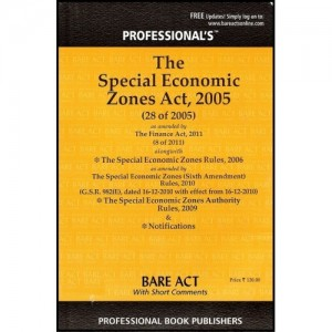 Professional's Special Economic Zones Act, 2005 (SEZ Bare Act)