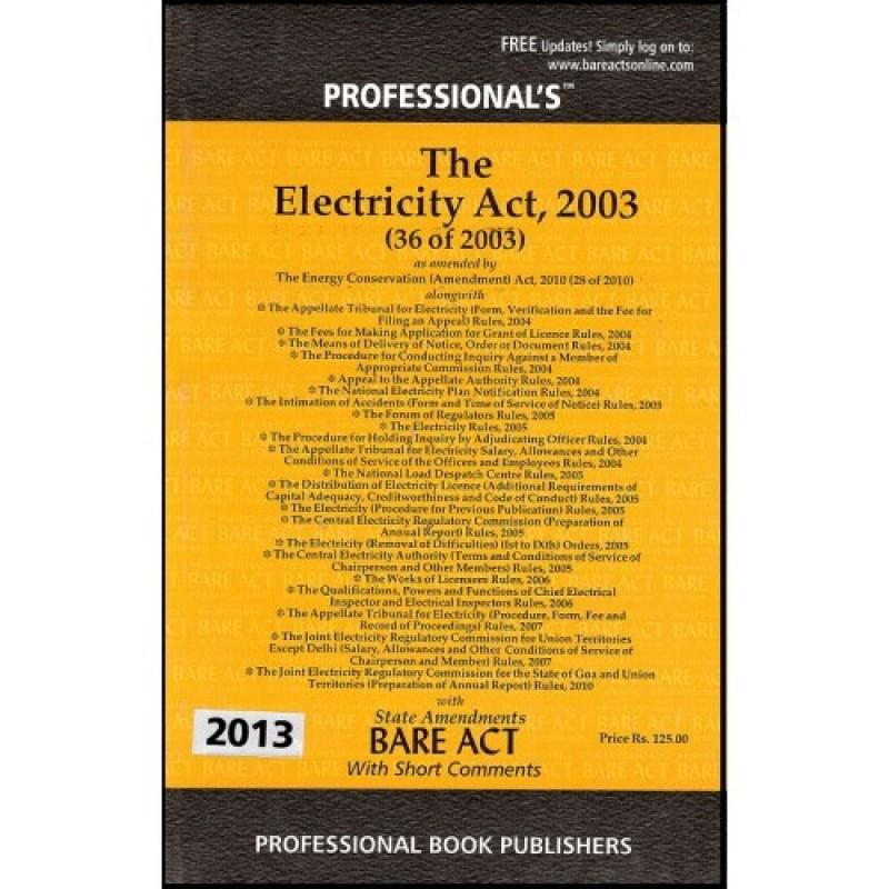Electricity Act 2003 Marathi