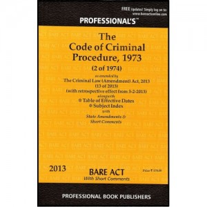 Professional's Code of Criminal Procedure ,1973 [Bare Act]