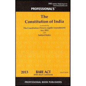 Professional's Bare Act on Constitution of India