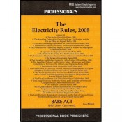 Professional's Electricity Rules,2005 Bare Act