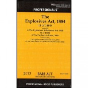 Professional's Explosives Act,1884 Bare Act
