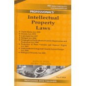 Professional's Intellectual Property Laws [IPR] Manual with Short Comments [HB -Pocket] | Bare Act