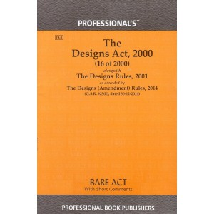 Professional's Designs Act, 2000 Bare Act