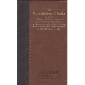 Professional's The Constitution of India [Leather Bound Edn.]