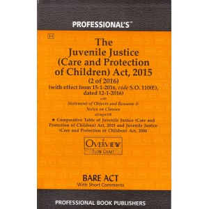 Professional's Bare Act on The Juvenile Justice (Care and Protection of Children) Act, 2015
