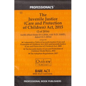 Professional's Bare Act on  Juvenile Justice (Care & Protection of Children) Act, 2015