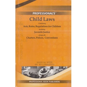 Professional's Child Laws Manual with Short Comments