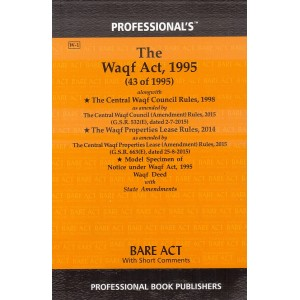 Professional's The Waqf Act, 1995 Bare Act