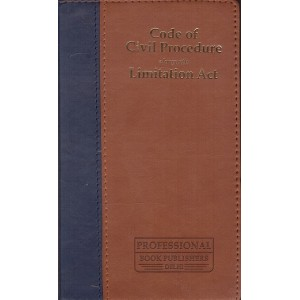 Professional's Code of Civil Procedure (CPC) alongwith Limitation Act [Palmtop Leather Edition]