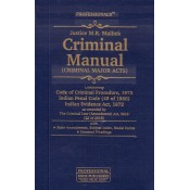 Professional's Criminal Manual (Criminal Major Acts) [HB] by Justice M.R.Mallick