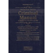 Professional's Criminal Manual (Criminal Major Acts) By Justice M.R. Mallick With Short Notes Pocket [HB]
