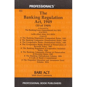 Professional's Banking Regulation Act,1949 Bare Act