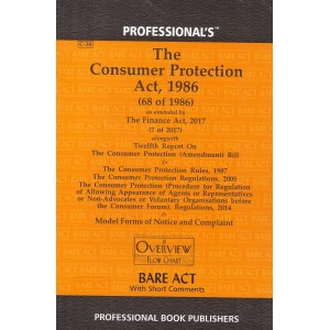 Professional's Consumer Protection Act,1986 Bare Act