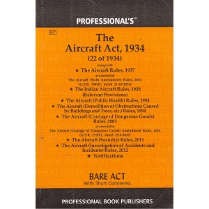 Professional's The Aircraft Act, 1934 Bare Act