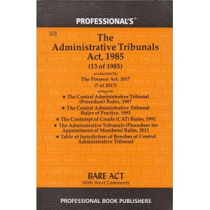 Professional's Administrative Tribunals Act 1985 Bare Act