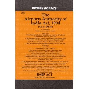Professional's Bare Act on The Airports Authority of India Act, 1994