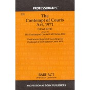Professional's Contempt of Courts Act, 1971 Bare Act
