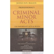 Professional's Criminal Minor Acts [HB] by Justice M. R. Mallick