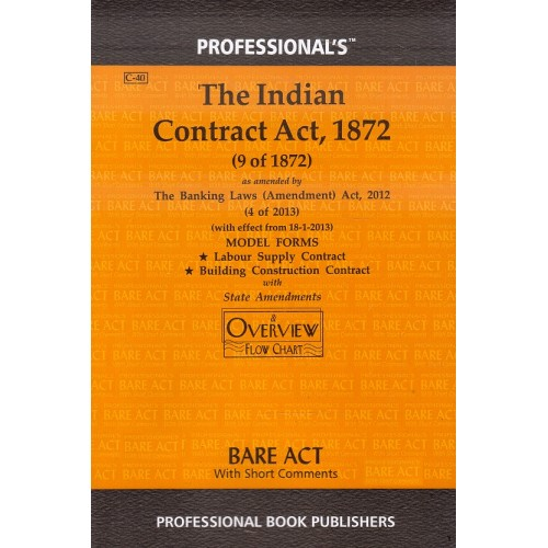 Professional's Indian Contract Act, 1872 Bare Act