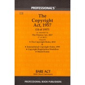 Professional's Copyright Act, 1957 alongwith Copyright Rules, 2013 & International Copyright Order, 1999 Bare Act