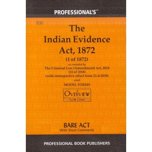 Professional's Indian Evidence Act, 1872 Bare Act