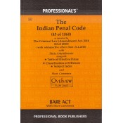 Professional's Indian Penal Code, 1860 (IPC) Bare Act
