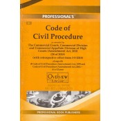 Professional's Code of Civil Procedure, 1908 [CPC] Manual with Short Comments [HB]