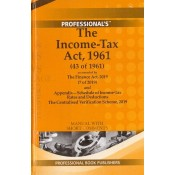 Professional's The Income Tax Act, 1961 [HB] Pocket Manual