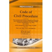 Professional's Code of Civil Procedure, 1908 (CPC) with State & High Court Amendments Manual with Short Comments [HB]