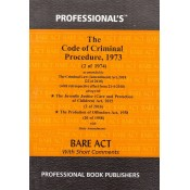 Professional's Code of Criminal Procedure, 1973 [CrPC. Pocket] Bare Act