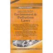 Professional's Environment & Pollution Laws Manual by Justice M. R. Mallick