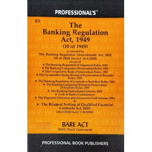 Professional's Banking Regulation Act, 1949 Bare Act 2021