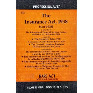 Professional's Insurance Act, 1938 Bare Act 2021