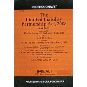 Professional's Limited Liability Partnership [LLP] Act, 2008 Bare Act 2021