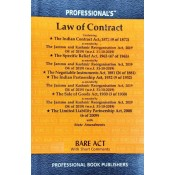 Professional's Law of Contract Bare Act [Edn. 2021]