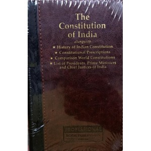 Professional's The Constitution of India [Leather Bound Palmtop Delexue Edition]