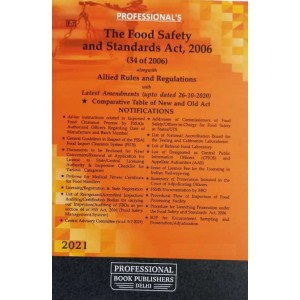 Professional's Food Safety and Standard Act, 2006 (34 of 2006) with Allied Rules and Regulations [FSSAI]